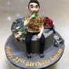 Lorcan - 21st birthday cake