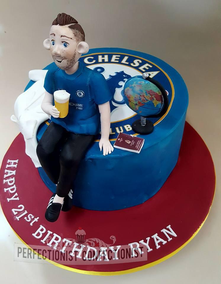 Ryan - 21st Birthday Cake