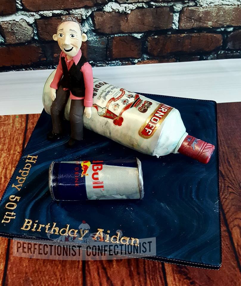Aidan - Smirnoff & Red Bull 50th Birthday Cake