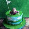 Tony - 50th Birthday Golf Cake