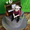 Tony - 50th Birthday cake for a music lover