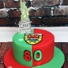 Bill - Loves Mayo and New York! Birthday Cake