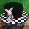 Alice - White Rabbit Cake / Alice in Wonderland Cake
