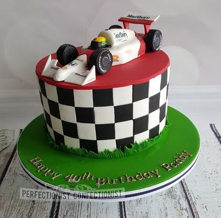 Paddy - F1 40th Birthday Cake