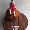 Niamh - Basketball Birthday Cake