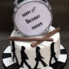Abbey Road Birthday Cake