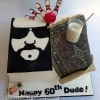The Dude - Big Lebowski Cake