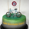 Gerry - Bicycling Birthday Cake