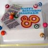 Maureen - Bingo Birthday Cake