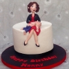 The Nanny Birthday Cake