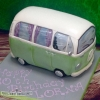 Lorna - VW Campervan Birthday Cake