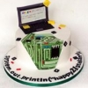 Alan - Computer Circuit Board Birthday Cake