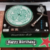 Record Deck - Birthday Cake
