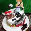 Eoghan - DragonBall Z Birthday cake