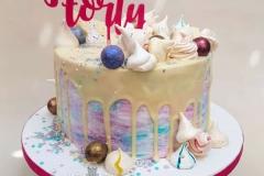 Deirdre - 40th birthday drip cake