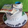 John - 40th Birthday Cake