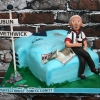 Michael - Dublin/West Bromwich Albion 80th Birthday Cake