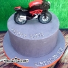 Joe's 50th - Ducati Birthday Cake