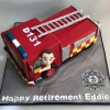 Eddie - Fire Engine Cake