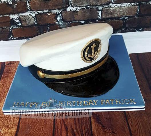 Philip - Captains Hat Birthday Cake