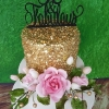 Patricia - Sequins and Roses Birthday Cake
