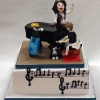Nuala and her Grand Piano Birthday Cake
