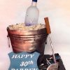 Grey Goose Ice Bucket Birthday Cake