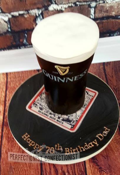 Dawn - Pint of Guinness Birthday Cake