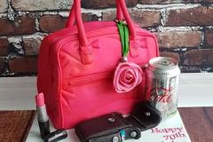 Lorna - Pink Handbag Birthday Cake