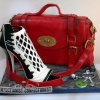 Jackie - Mulberry Bag and shoe Birthday cake