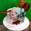 Ruby Rose - Harley Quinn Birthday Cake
