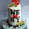 I Heart New York Birthday Cake
