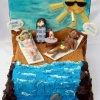 Beach, boobs and Booze - Birthday Cake
