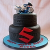 Nigel - Suzuki Jigster Birthday Cake