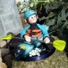 Canoeing Cake Topper