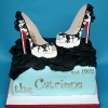 Catriona's new shoes - Shoe Box Birthday Cake