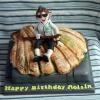 Roisin - Camino de Santiago Birthday Cake
