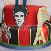 Vegas Baby -  Las Vegas Birthday Cake