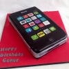 Conor's Iphone birthday cake