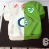 Ireland v England Rugby Six Nations 2015 Cake!