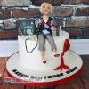 Mary - 70th birthday cake