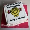 Gemma - Little Miss Sunshine Book Birthday Cake