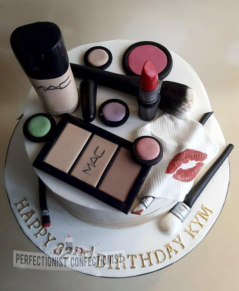 Kym - MAC Make Up Birthday Cake
