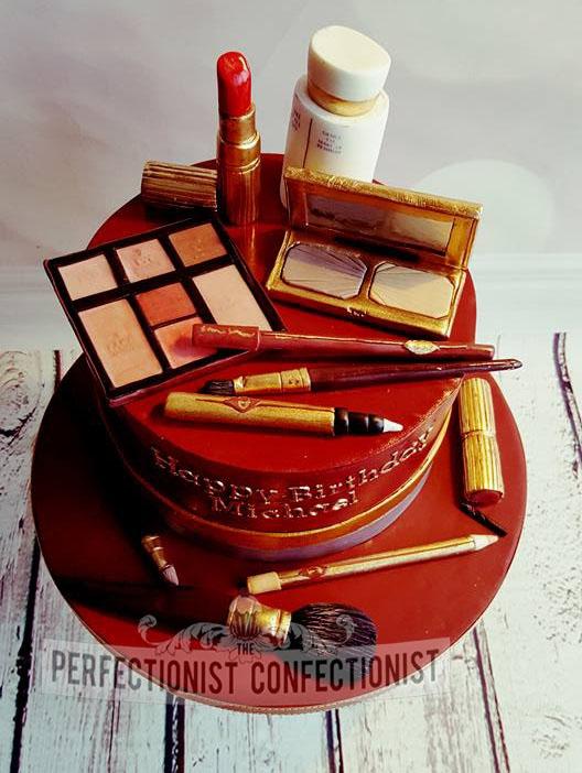 Michael - Charlotte Tilbury Make Up Birthday Cake
