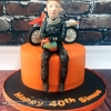 Simon - Motorbike Birthday Cake