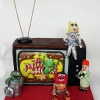 Retro TV with the Muppets!!!! Birthday cake