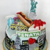 Renata - I Heart New York Birthday Cake