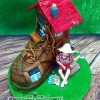 Old Woman Who Lived in a Shoe Cake!