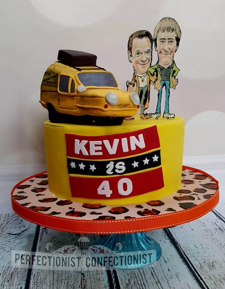 Kevin - 40th Birthday Cake