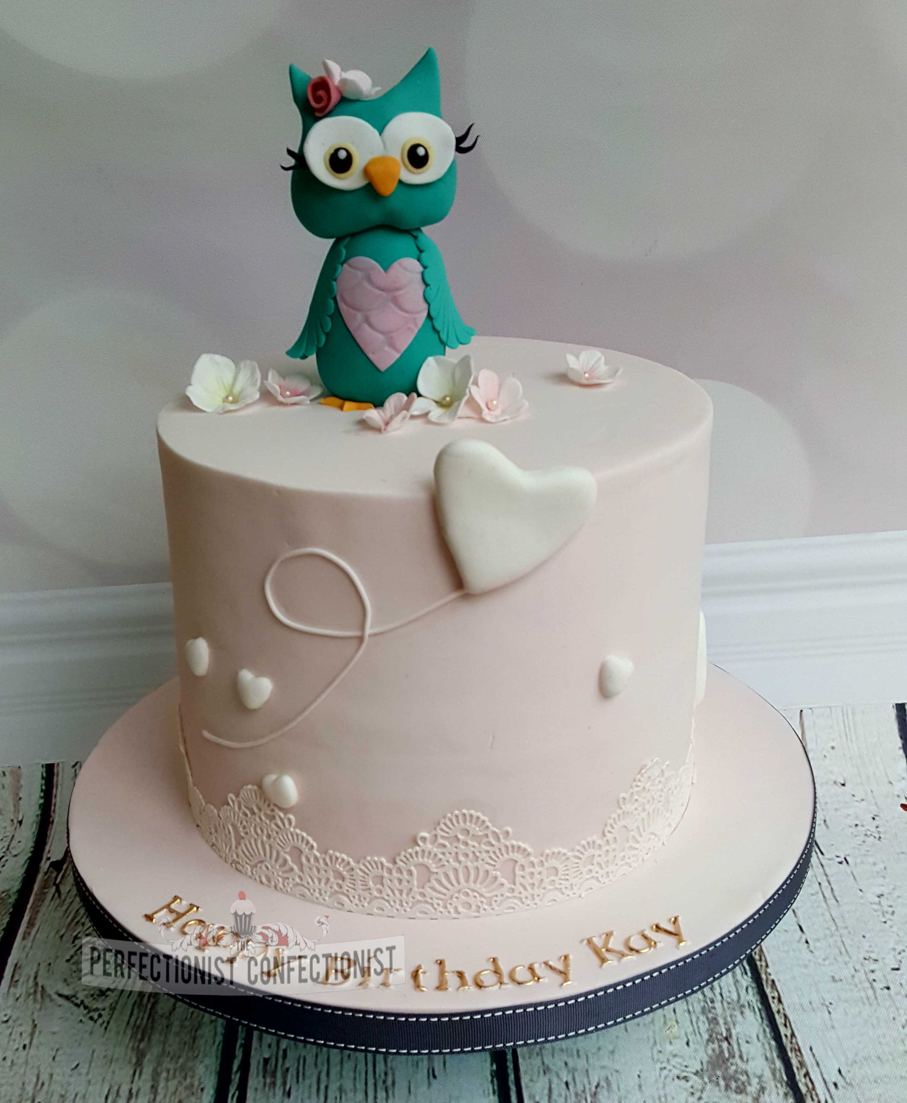 Kay - Owl Birthday Cake